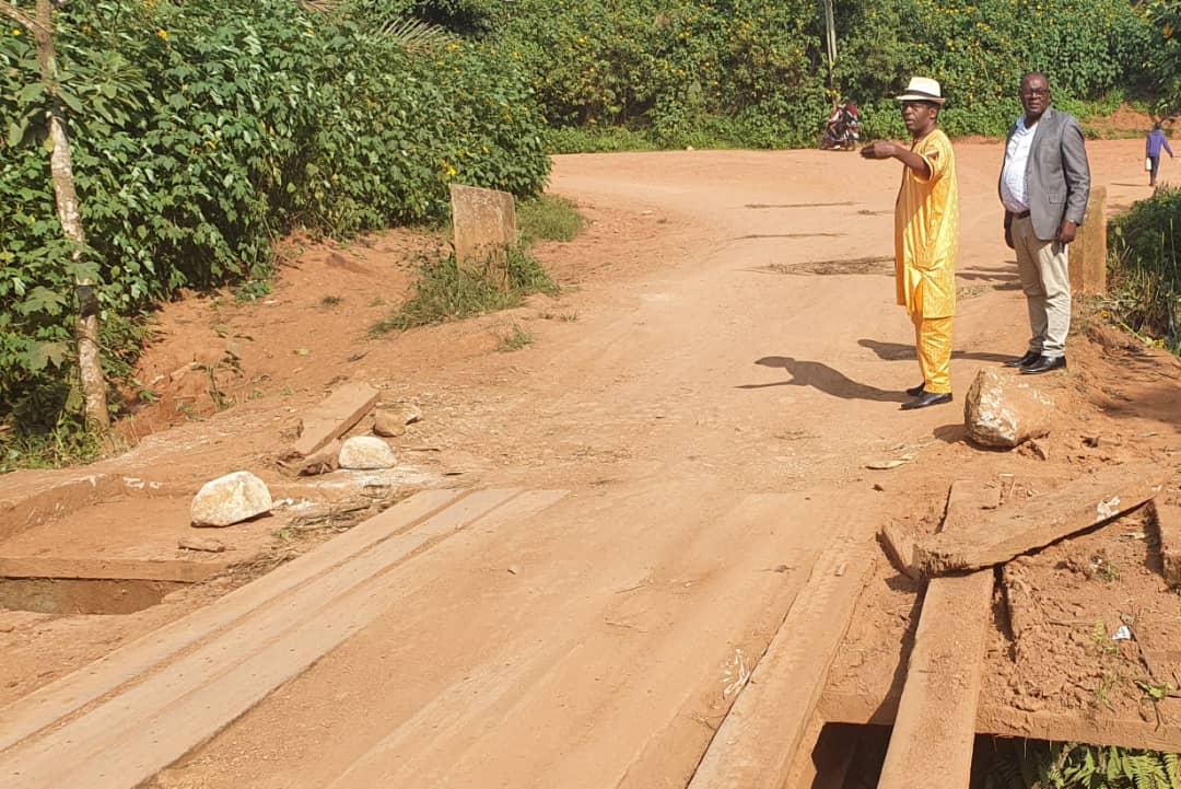 Dégradation avancée du pont Lingang sur le tronçon Dschang Fongo-Tongo : ça préoccupe